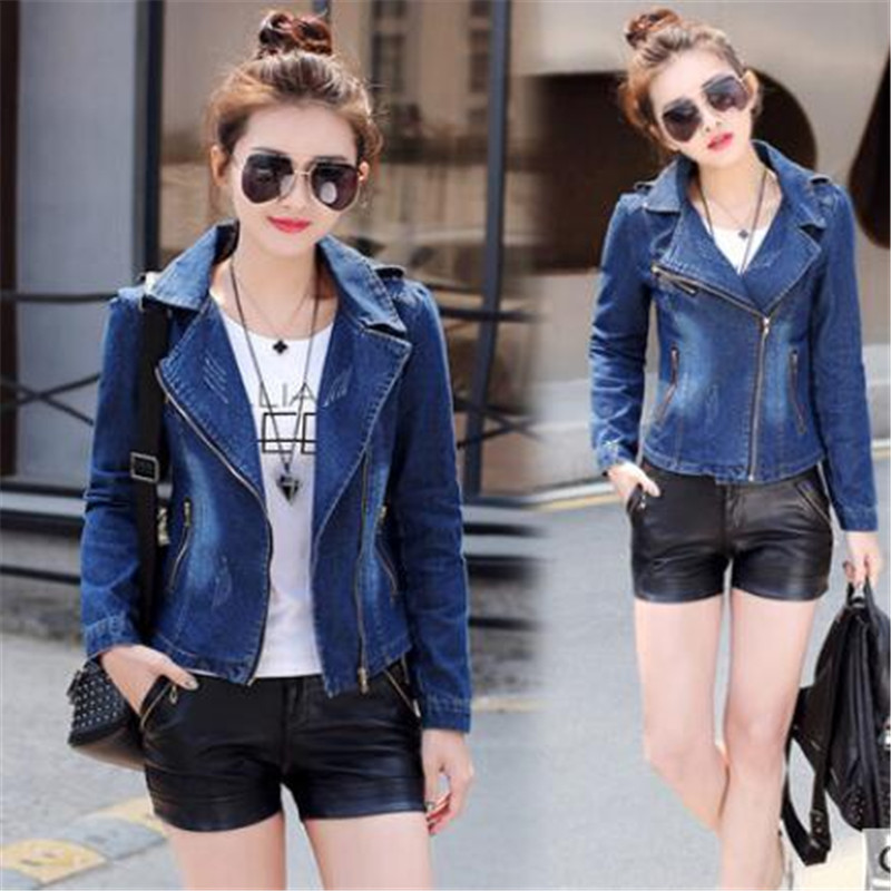 2019 New Denim   Jacket   Women Jeans   Basic     Jacket   Coat Hooded Outwear Slim Short Warm Overcoats Jeans Denim Female   Jackets   CM118