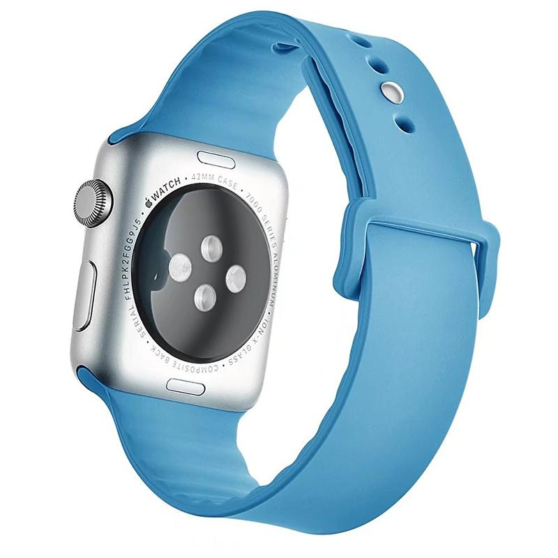 Silicone Belt Sports Band Strap for Series 1/2 Apple Watch iwatch 38/42mm Colorful Bracelet I260.