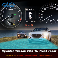 The embedded probe in the front of radar electronic eye front mounted radar is refitted for Hyundai Tucson 2015 TL