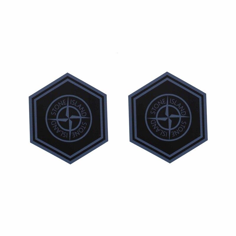 KODASKIN Emblème 2 3dsticker Decal motos graphique moto logo fo piaggio l'île pierre 2 pièces
