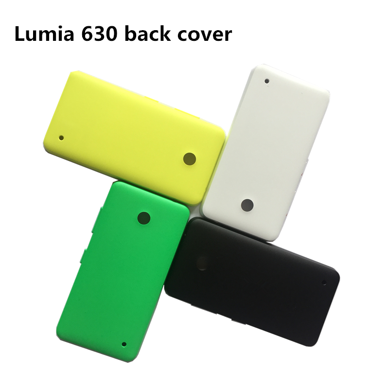 Original Material Back Cover For Nokia Lumia 630 635/636/638 Battery Cover For Nokia 630 Housing For Nokia Lumia 635 Door Case