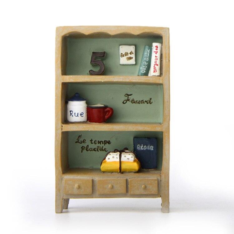 Mini pryskyřičná knihovna / knihovna / knihovna / skříňka na knihy / police / víla zahradní gnome / kutilství / dekorace terasy / milenci / dětské dárky /