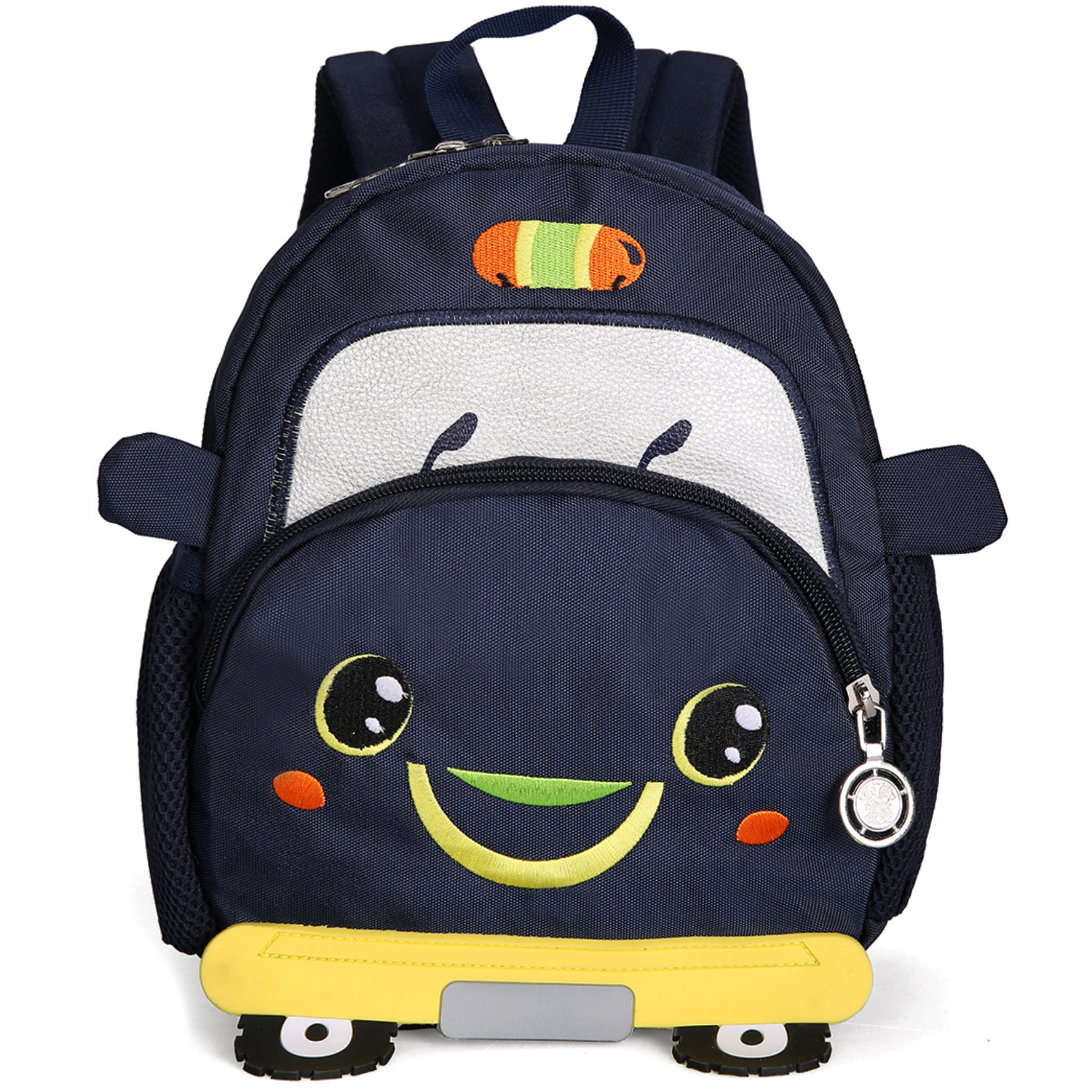 Litthing Children School Backpack Car Cartoon Mini Plush Backpack For Kindergarten Kids Gift Student Lovely School Bag 2019