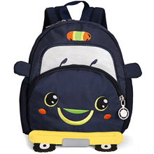 Litthing Children School Backpack car Cartoon Mini Plush For Kindergarten Kids Gift Student Lovely bag 2019