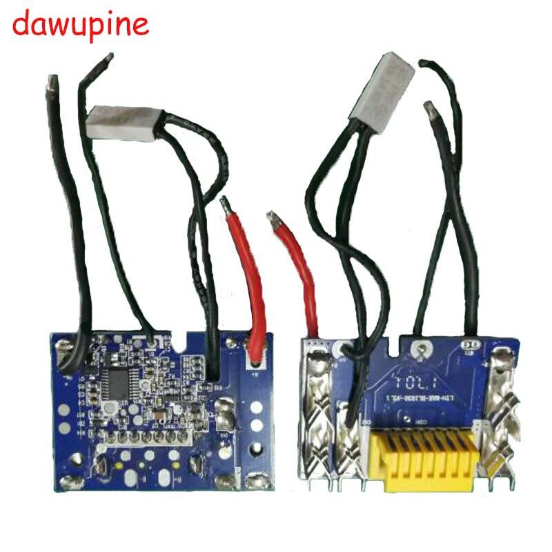 Dawupine Li-Ion akku PCB Ladeschutz Aufladen platine Für Makita 18 V 3Ah 6Ah BL1830 BL1815 BL1845 BL1860 BL1850 LXT400