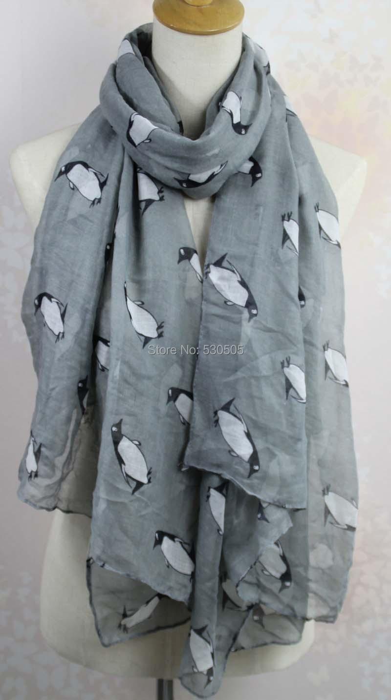 տիկնայք նորաձևություն պինգվին տպագիր - Հագուստի պարագաներ - Լուսանկար 4