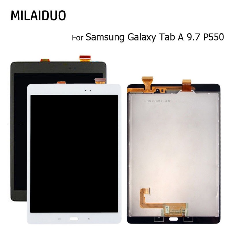 P550 LCD Touch Screen For Samsung Galaxy Tab A 9.7