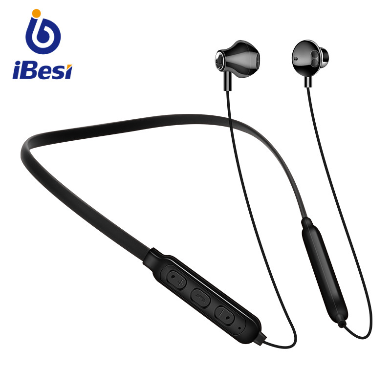 Y10 Bluetooth Earphone Neckband Wireless Headphones Sport Headset Ear Hook Stereo Earbuds With Mic For Xiaomi Huawei Smart Phone