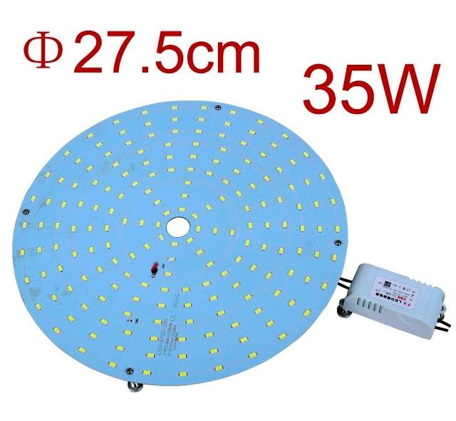 Wholesale 4PCS 220V 35W Retrofit  LED Ceiling Lights Board Replacement 2D LED Lamp LED Disc Plate Lights CFL lamps