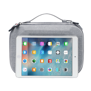 "Image 4 - BUBM bag for power bank digital receiving accessories EVA case for 9.7"" ipad cable organizer portable bag for USB"