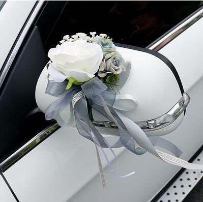 Beste Kunstmatige bloem zijden lint Getrouwd vieren benodigdheden CJ-12