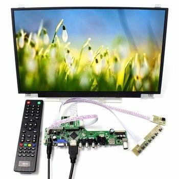 17.3inch 1920x1080 N173HCE-E31 LCD Screen+TV HDMI VGA AV USB LCD Controller Board