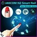 Jakcom n2 elegante del clavo nuevo producto de relojes inteligentes como q80 para ios smart watch para garmin gps relojes