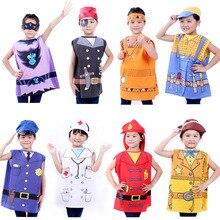 Детский костюм на Хэллоуин, детская одежда для ролевых игр, детский костюм для костюмированной вечеринки, костюм медсестры, костюм пирата, костюм повара, 12 видов стилей