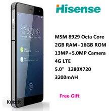 Hisense C20 Waterproof phone octa core Android Smartphone 3GB RAM ultra thin Phone Qualcomm 5.0″ 4G LTE FDD 32GB ROM 13.0MP