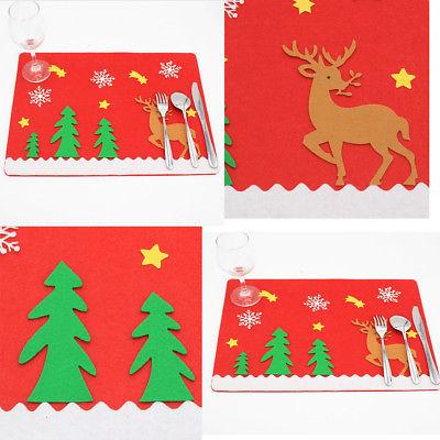 100% Waar Kerst Handschoen Dining Boom Herten Tafel Mat Vakantie Venue Keuken Banket Kerst Tafel Knappe Verschijning