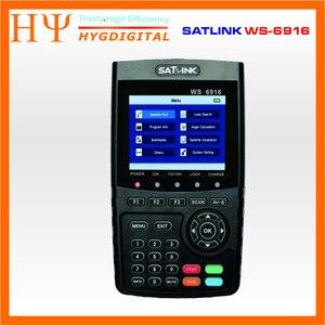 Image 2 - Originele Satlink Ws 6916 Satelliet Finder DVB S2 MPEG 2/MPEG 4 Satlink WS 6916 High Definition Satelliet Meter Tft Lcd scherm