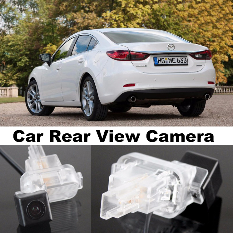 Car Camera For Mazda 6 M6 Atenza GJ 2013~2015 High Quality Rear View Back Up Camera For Top Gear Friends to Use  CCD with RCA