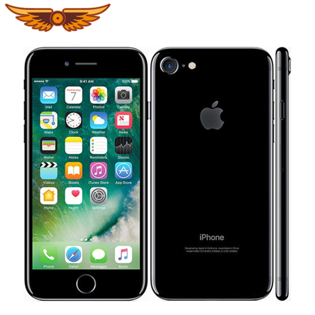 100% Original iPhone 7 Quad Core 4.7 Inch 2GB RAM 32/128/256GB ROM 12.0MP Camera LTE IOS IPS Touch ID Unlocked Used Mobile Phone