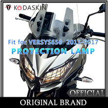 KODASKIN  Headlight Protection Cover Grille Guard for Kawasaki Versys650 15-17