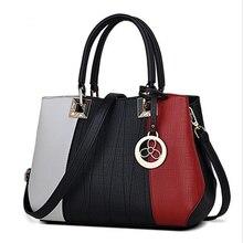 Jooz новинка Женская сумка Лоскутная Топ-Сумочка Дамы склонны плечо женщина сумки женские известные бренды(China)