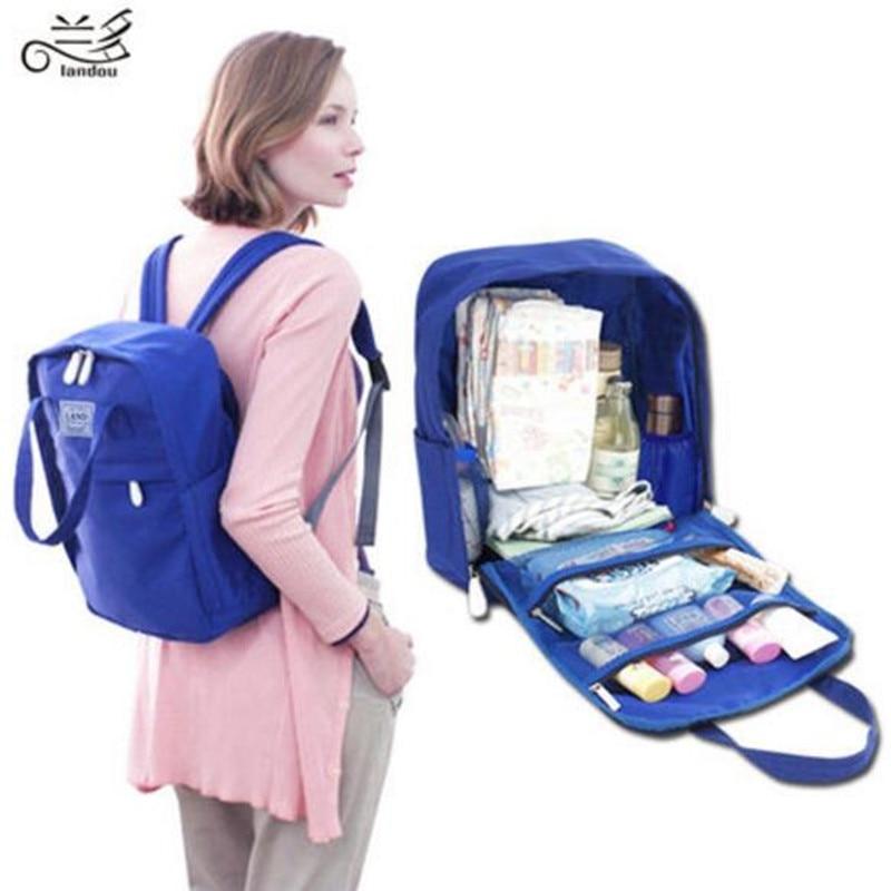 Landuo Fashion Mummy Maternity Nappy Bag Brand Large Capacity Baby Bag Travel Backpack Desiger Nursing Bag for Baby Care la roche posay очищающий гель effaclar очищающий гель effaclar 400 мл