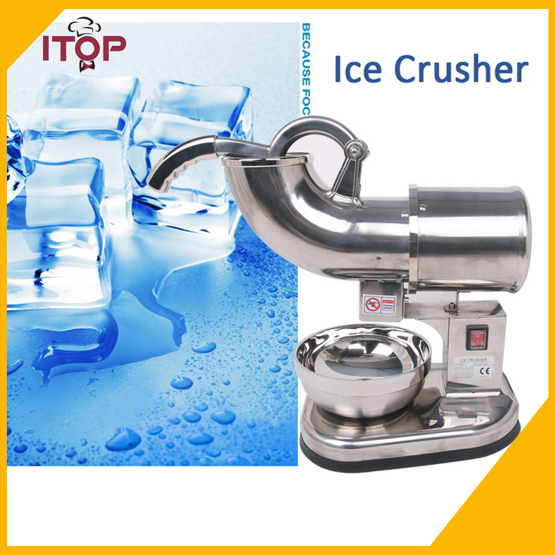 ITOP SBT114 Ice Crusher and Shavers Commercial Use Snow Maker Stainless Steel 110V 220V 240V 1pc high quality manual household use commercial snow ice crusher ice machine ice maker professional practical machine