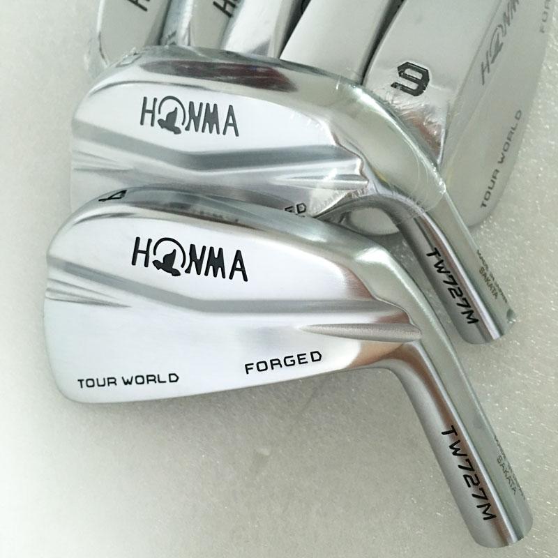 Nya Cooyute Strykjärn Golfhuvud HONMA TW727M Klubbar Golfstrykjärn Headset 4-10 Klubbhuvud Nej Golfaxel Gratis frakt