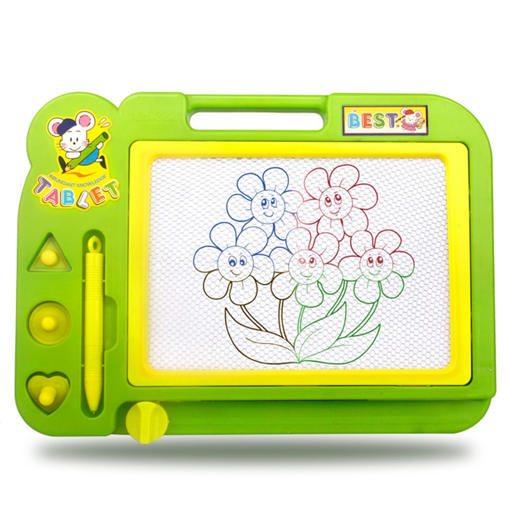 LeadingStar Children Educational Toy Sketch Pad Magnetic Drawing Writing Board for Boys and Girls Random Color zk35