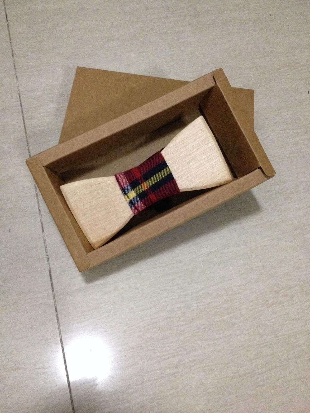 Новинка, модный галстук-бабочка с бантом, деревянный ручной галстук-бабочка на свадьбу, мужской подарок