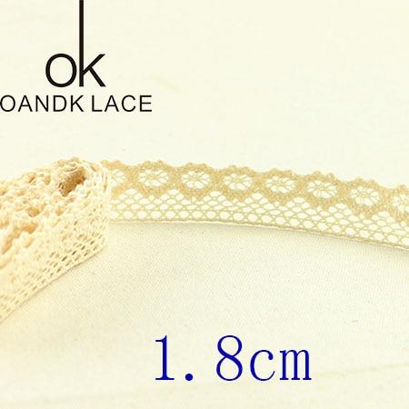 HTB1leXtGKSSBuNjy0Flq6zBpVXal 4YARD Apparel Sewing Fabric DIY Ivory Cream Black Trim Cotton Crocheted Lace Fabric Ribbon Handmade Accessories Craft 11021