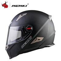 NENKI Motorbike Helmet Motorcycle Full Face Helmet Motorcycle Riding Street Bike Motor Racing Helmet ECE Certification