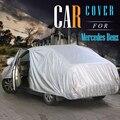 Cubierta del coche Sedan Wagon Coupé Anti-Ultravioleta Dom Lluvia Nieve Cubierta de Protección para Mercedes Benz E320 E350 E420 E430 E500 E250D E300D E260L