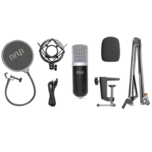 Image 5 - UHURU USB Podcast Condenser Microphone 192kHZ/24bit Professional PC Streaming Cardioid Microphone Kit for Youtube Laptop Karaoke