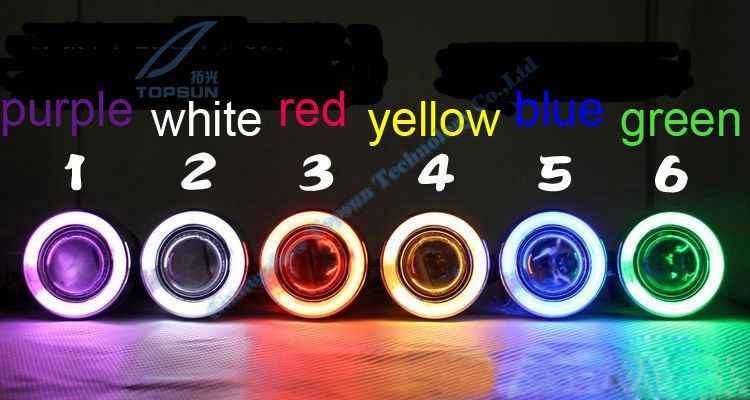 GZTOPHID  2 Ballasts+2 H3 HID Xenon Bulbs 35W Ready Universal Fog Lamp Projector Lens Kit with Halo CCFL Angel Eyes 807 2 3 motorcycle projector lens kit with ccfl angel eyes halo ring using special xenon bulb different color
