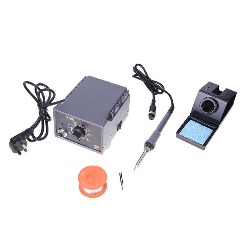 220-240V 60W 936A Soldering Iron Station Set Anti-Static Thermostat Home Welding Machine Tool Set Professional Power Tools Set цена