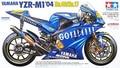 TAMIYA MODEL 1/12 SCALE models #14098 Yamaha YZR-M1 '04 Factory - No.46/No.17 plastic model kit