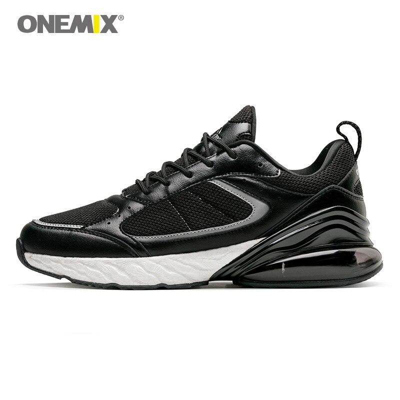 ONEMIX chaussures de course baskets maille respirante demi-paume coussin chaussures de course hommes et femmes Max 95 chaussures de course en plein air marche
