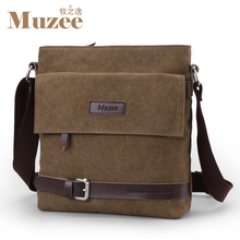 2016 Muzee Men Shoulder Bag Casual Canvas  Men Messenger Bags 2014 New Crossbody Bags For Men Free Shipping ME9999