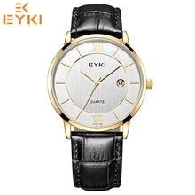 38914a3c694 EYKI Moda Top Marca Homens Mulheres Relógios Casal Relógio À Prova D  Água  Relógio de