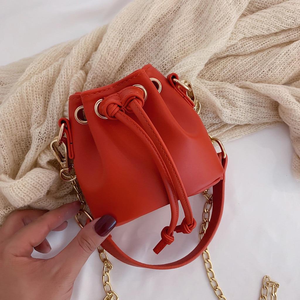 MUQGEW Luxury Acrylic Bucket Bag Clip Women Handbag Chain Shoulder Messenger Bags Ice Cream Colo Box Bags Party Clutch #@%