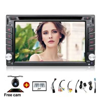 Android 7.1 Car Radio 6.2 inch 2din DVD GPS Navigation Bluetooth USB 2 din Universal For Nissan VW Toyota Peugeot Player