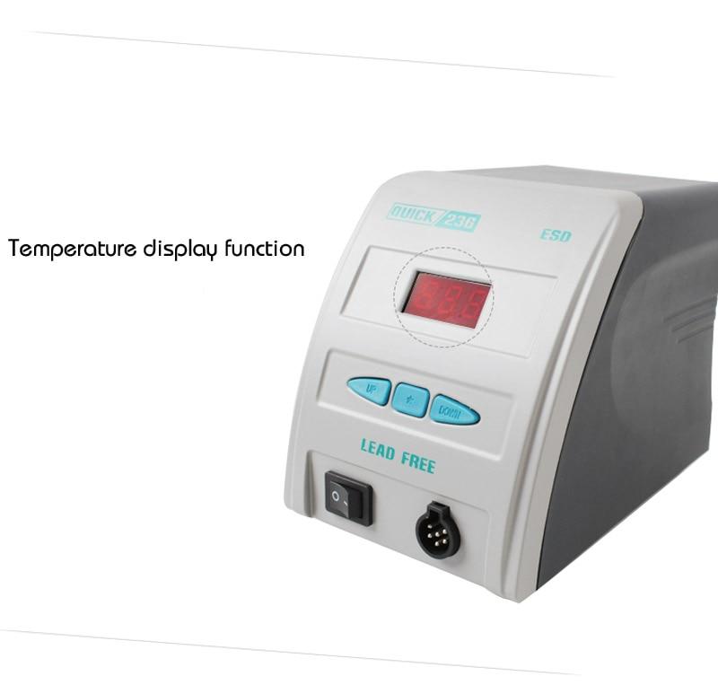 Oryginalny antystatyczny wyświetlacz QUICK 236 ESD szybki gram - Sprzęt spawalniczy - Zdjęcie 4