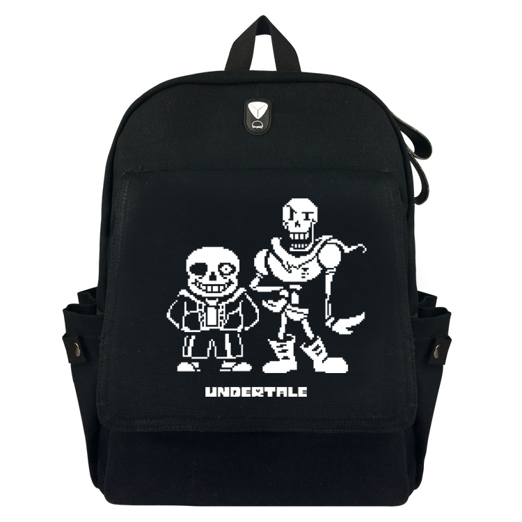 Undertale Sans Papyrus Backpack Schoolbag Casual Teenagers Men Women Student Canvas School Bags Knapsack Travel Bags anime rick and morty backpack schoolbag casual teenagers men women student canvas school bags travel bags knapsack mochila