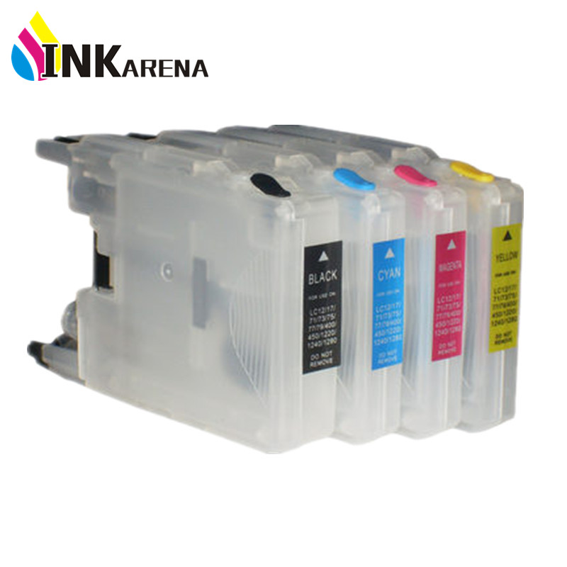 Refill Ink Cartridge for Brother Printer LC75 LC77 LC79 LC400 LC450 <font><b>LC1280</b></font> LC73 MFC-J430W MFC-J825DW J835DW DCP-J525N J540N image