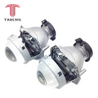 TAOCHIS 2pcs Auto Car Headlight 3.0 inch Bi xenon Hella 3R G5 5 Projector lens Car styling Retrofit head light Modify D2s