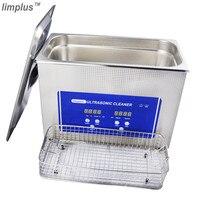 Limplus Digital Ultrasonic Cleaner 4.5L Cleaning Denture Jewellery Watch Ultrasonic Cleaner Bath Ultra Sonic Wave Cleaning Tank