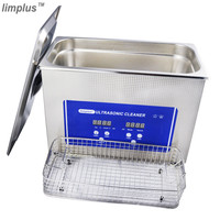 Limplus Digital Ultrasonic Cleaner 4.5L Cleaning Denture Jewellery Watch Ultrasonic Cleaner Bath Ultra Sonic Wave Cleaning Tank
