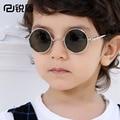 2016 Nova Moda Infantil Óculos de Sol Meninos Meninas Crianças Bebê Criança óculos de Sol Óculos UV400 espelho óculos de Preços Por Atacado 2002Kid