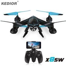 Kedior X8SW Super Drones Quadcopter RC Drone Profesional con cámara 720 P WIFI RTF FPV o 1080 P HD de La Cámara Moda para venta